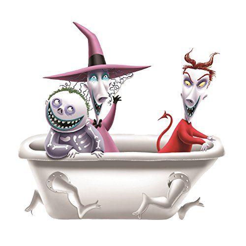 Vandor Nightmare Before Christmas Lock, Shock and Barrel Salt and Pepper Set (55503) (Christmas Lock)