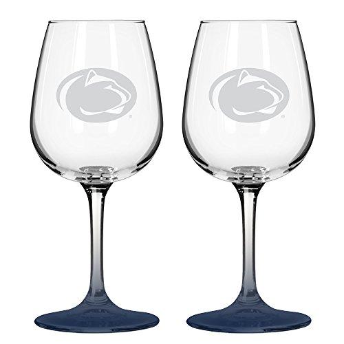Boelter NCAA Penn State Nittany Lions Wine Glass (2-Pack)