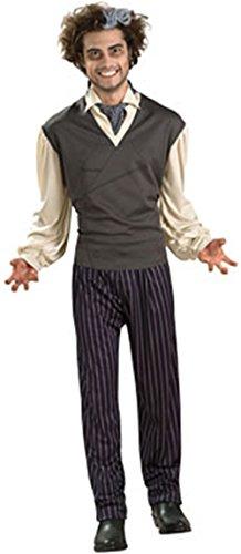 [Sweeney Todd Costume - Standard - Chest Size 40-44] (Sweeney Todd Halloween)
