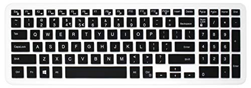 Skin Slicone - Silicone Dell Keyboard Cover Skin for 15.6