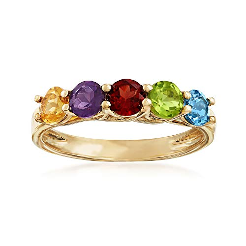 Ross-Simons 1.40 ct. t.w. Multi-Gemstone Ring in 14kt Yellow Gold ()
