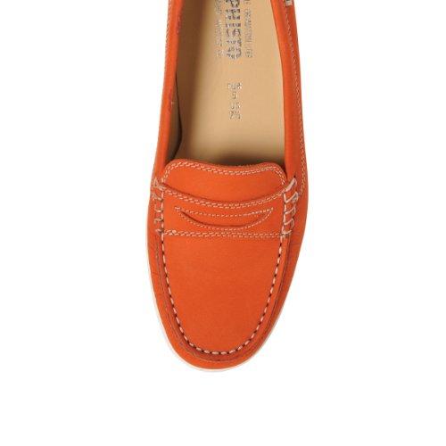 naranja nubuck axena mocassin femme Mephisto chaussure 6954 BxngPt