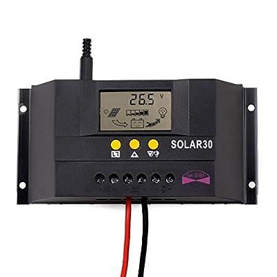 Sun YOBA Solar Charge Controller Solar Controller 30A 12V 24V Solar30