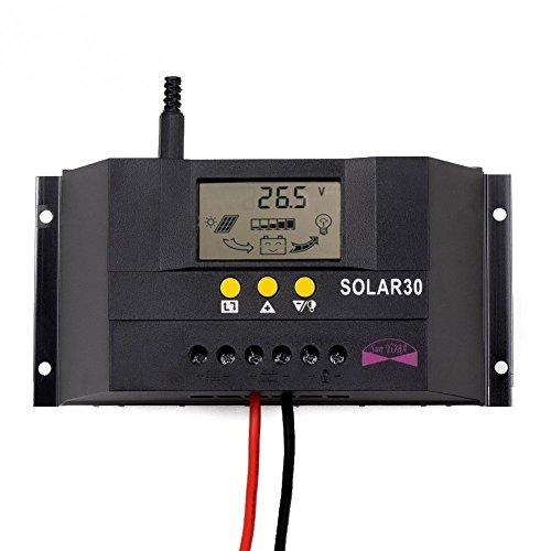 Sun YOBA Solar Charge Controller Solar Controller 30A 12V 24V Solar30 by Sun YOBA