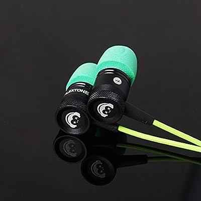 GranVela® G10 Hammering Gaming Earphones In-ear Noise-isolating Bass Headphones with Microphones Earbuds