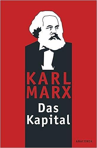 Das Kapital Kritik Der Politischen ökonomie Amazonde Karl Marx