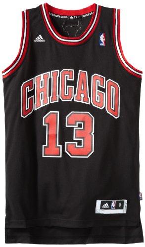 NBA Chicago Bulls Black Swingman Jersey Joakim Noah #13, XX-Large