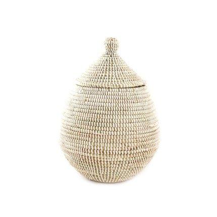 Woven Gourd Basket with Lid - Fair (Gourd Basket)
