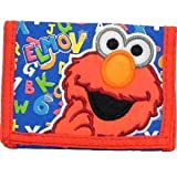 Sesame Street Elmo Trifold Wallet, Bags Central