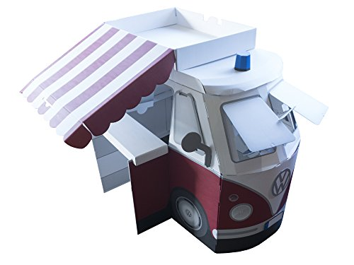 Cardboard Volkswagen Splitty Bus Cardboard ()