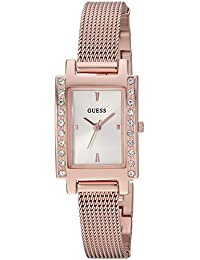 GUESS Women's Quartz Stainless Steel Casual Watch, Color:Rose Gold-Toned (Model: U0953L3)