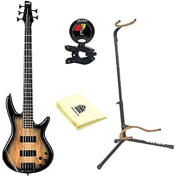 ibanez gsr205sm 5 string electric bass guitar in natural gray burst with guitar. Black Bedroom Furniture Sets. Home Design Ideas