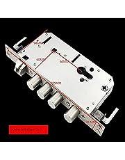 Mortise Lock Stainless Steel Finger Print Automatic Lock Self-Elastic Lock Body top Security Widened Mortise Door Lock Fitting Lock The Interior Door