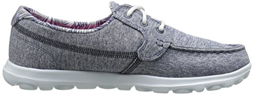 Skechers Zapatillas Navy Go The de Heather On Mist Deporte Mujer IavPnraqw