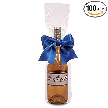 Amazon.com: Polipropileno/bolsas de celofán para vino de ...