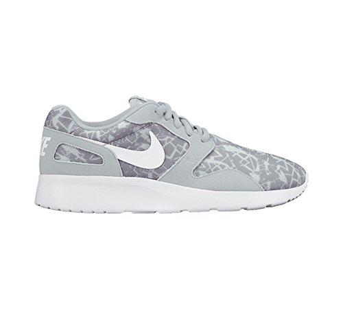 White Platinum Wolf Pure Sneakers Damen Grey Grigio Print Nike Kaishi WC0aqWA