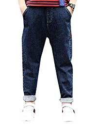 pipigo Boys Fashion Baby Jeans Denim Pant