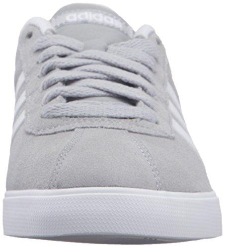 Adidas Neo Womens Courtset W Fashion Sneaker Trasparente Onix / Bianco / Rosa Shock Argento