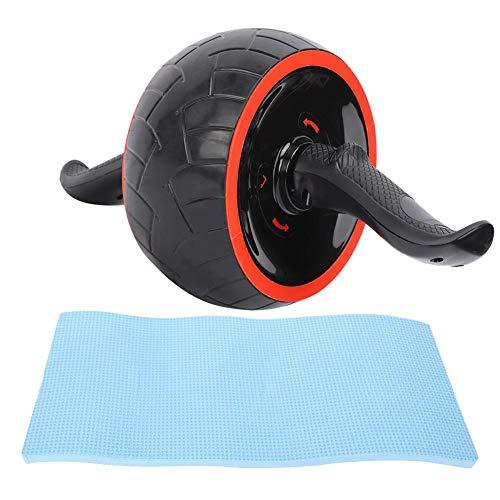 Ab Wheel, Ab Roller Wheel met kniebeschermer Ultra-wide Abs Wheel Abdominal Workout Equipment Core Exercise Wheel for…