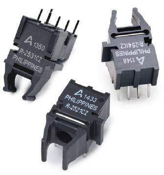 Fiber Optic Transmitters, Receivers, Transceivers Tilted 30 deg 5MBAUD Rx 3.3V + 5V, Pack of 10 (AFBR-2541CZ) by Broadcom / Avago (Image #1)