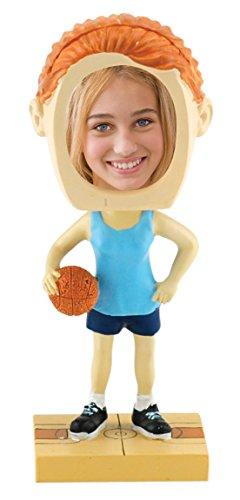 Neil Enterprises, Inc Female Basketball Photo Bobble Head