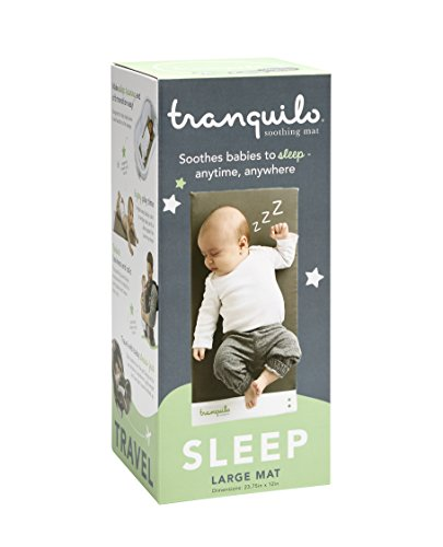 Tranquilo Mat: Portable Soothing Vibrating Baby Mat for Sleep & Playtime & Colic - Large: Infant 0-12 Months