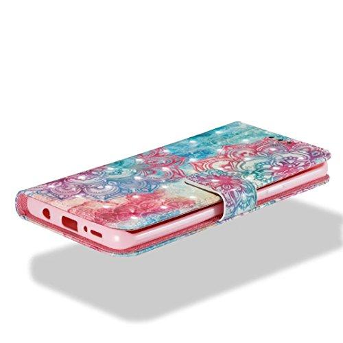 Samsung Galaxy S9Plus móvil, cowx Teléfono Móvil Piel Flip Case Carcasa para Samsung Galaxy S9Plus Funda Silicona Cover (s9p09)