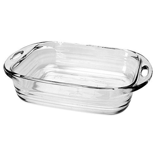 Anchor Hocking Baked by FireKing Premium 2 QT 8 X 8 Square Cake Dish