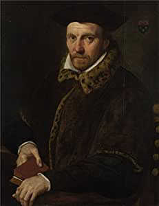 The polyster Canvas of oil painting 'Netherlandish Portrait of Andreas Boulengier ' ,size: 8 x 10 inch / 20 x 26 cm ,this Replica Art DecorativeCanvas Prints is fit for Home Office decor and Home decor and Gifts