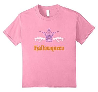 Funny Hallowqueen T-shirt Queen Halloween Costume Gift