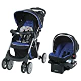 GracoComfy Cruiser Click Connect Stroller Travel System - with SnugRide ClickConnect 30 Infant Car Seat - Lively
