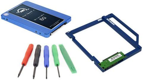 OWC SSD Data Doubler Kit, OWC Electra 500GB 6G SSD, Mounting Solution, and Installation Toolkit