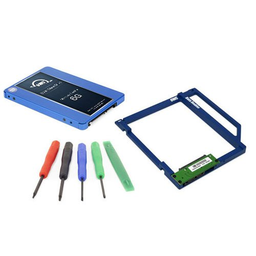 OWC SSD Data Doubler Kit, OWC Electra 120GB 6G SSD, Mounting Solution, and Installation Toolkit by OWC
