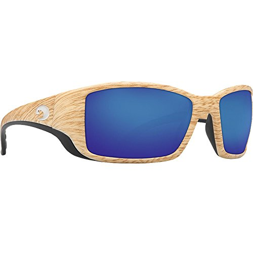 Costa Del Mar BL86OBMGLP Blackfin Sunglass, Ashwood Blue - Costa Angler Sunglasses