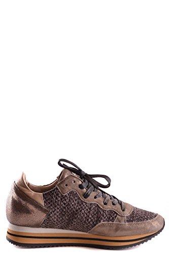 Philippe Signore Modello Mcbi238054o Sneakers In Pelle Marrone