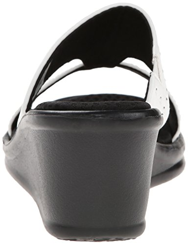Skechers Cali Kvinders Rumblers-håb Flyde Kile Sandal Hvid qxtTtxM7