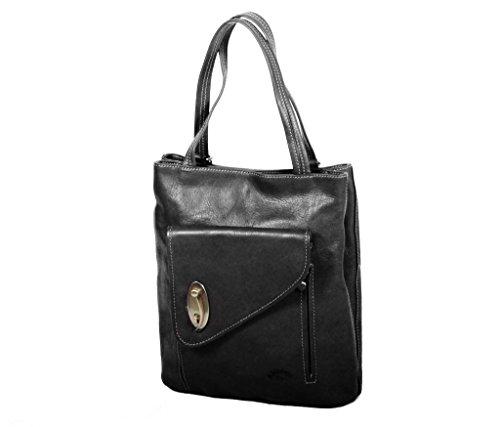 Katana dos shopping Sac Sac gras cuir de Noir 322015 à Vachette K r7nxrWwH