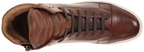 Kenneth Cole New York Heren Double Header Le Fashion Sneaker Cognac