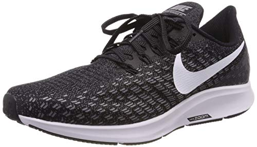 7f66c7f758e Nike Men s Air Zoom Pegasus 35 Wide Running Shoe Black White Gunsmoke Oil