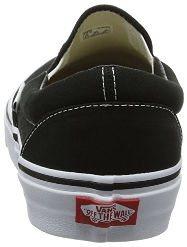 black Classic Unisex Vans on Negro Zapatillas Slip Adulto AadxOq0n