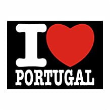 Idakoos - I love Portugal - Countries - Sticker Pack x4