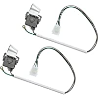 SATINIOR 2 Pack 3949238 Washer Lid Switch with Metal Shield Replacement Part for AP3100001 PS350431 Compatible with Kenmore Washer
