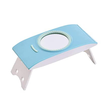 Xianxian88 Secador del Clavo, pequeño secador Plegable Portable, Espejo del USB, luz Solar