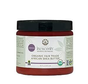 Organic Fair Trade African Shea Butter 16 oz. Tub