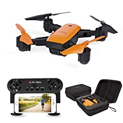 """Main Features :        ①Auto Surround (Shooting like a master) Press the remote button """"Surround """", at this time, the drone will face the position of the remote controller who holds,         and please move left and right joystick, the..."""