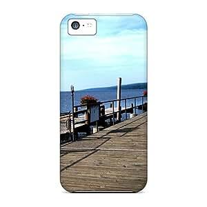 For Iphone 5c Premium Tpu Case Cover Seneca Lake State Park Geneva New York Protective Case