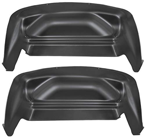 Husky Liners Rear Wheel Well Guards Fits 07-13 Silverado/Sierra ()