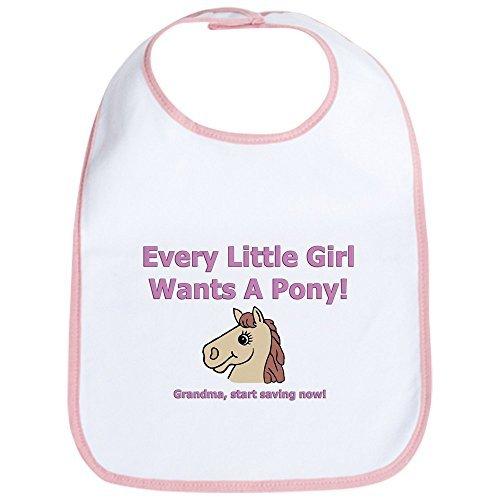 Pony Newborn Bib - 7