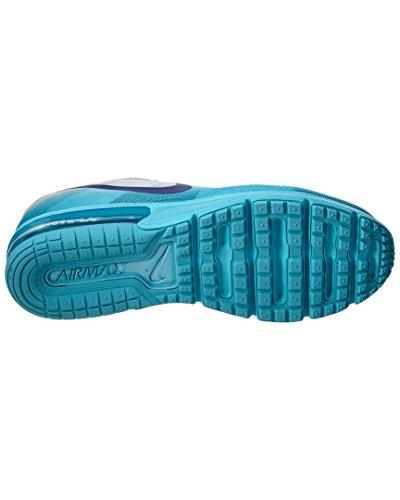 Nike Air Max Sequent Scarpe Da Corsa Da Donna Puro Platino / Gamma Blu / Grigio Freddo / Concord