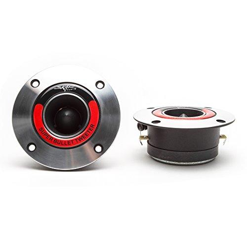 Skar Audio VX175-ST 1.75-Inch 400 Watt High Compression Aluminum Bullet Tweeters - (Bullet Tweeter)